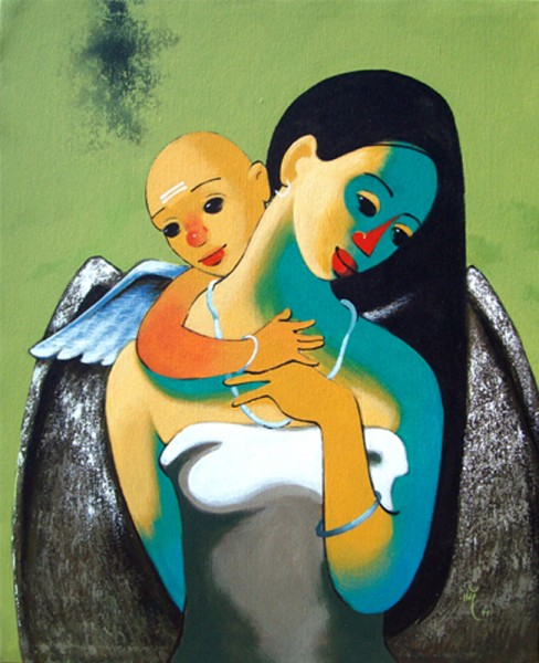 Mother and Child 6